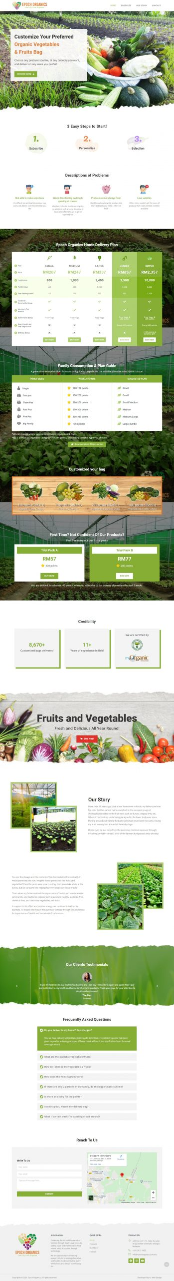 Epoch Organics
