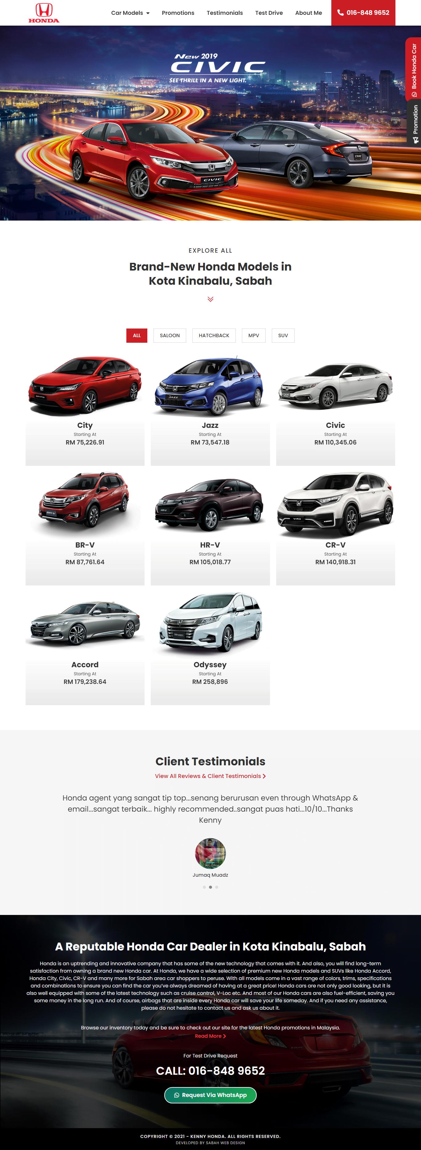 Honda Sabah